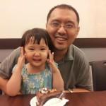貝貝講父親節快樂 + 爸爸生日快樂 (2Y6M)